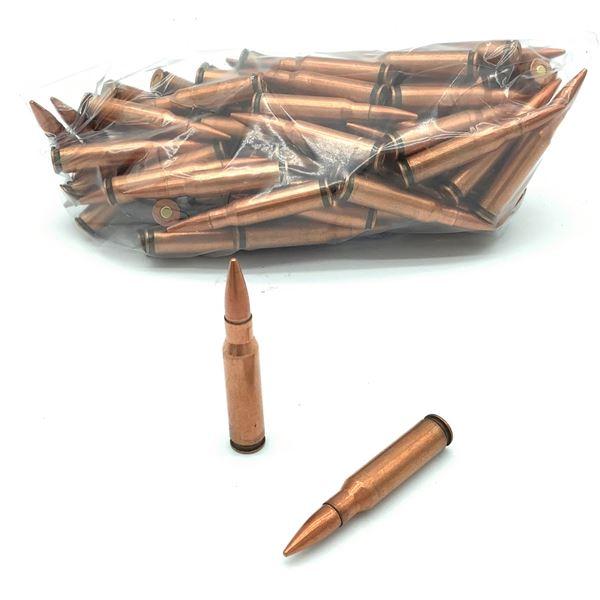 Loose 308 FMJ Ammunition, 92 Rounds