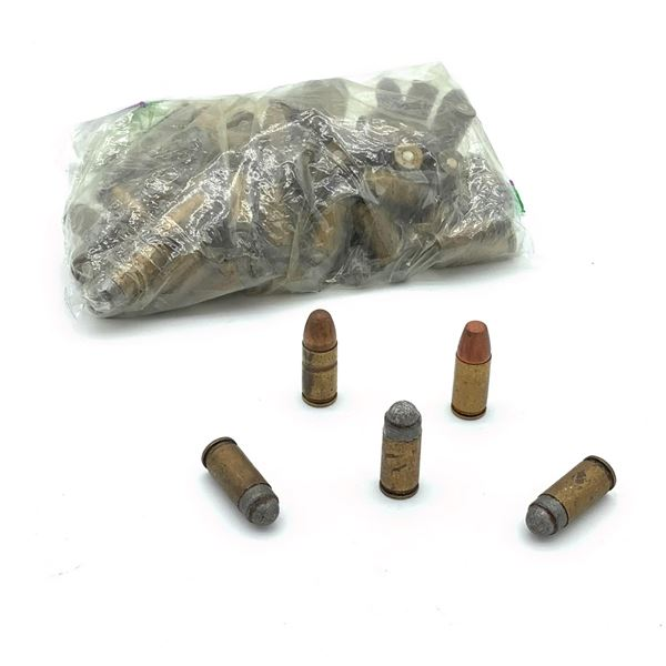 9mm, Appears to be Reloaded, Ammunition, LRN, 77 Rounds