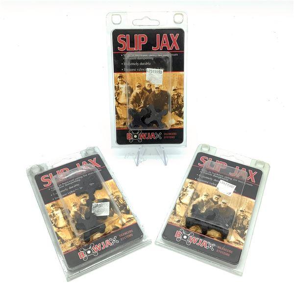 Bowjax Slip Jax Silencers 4 Pk X 3, New