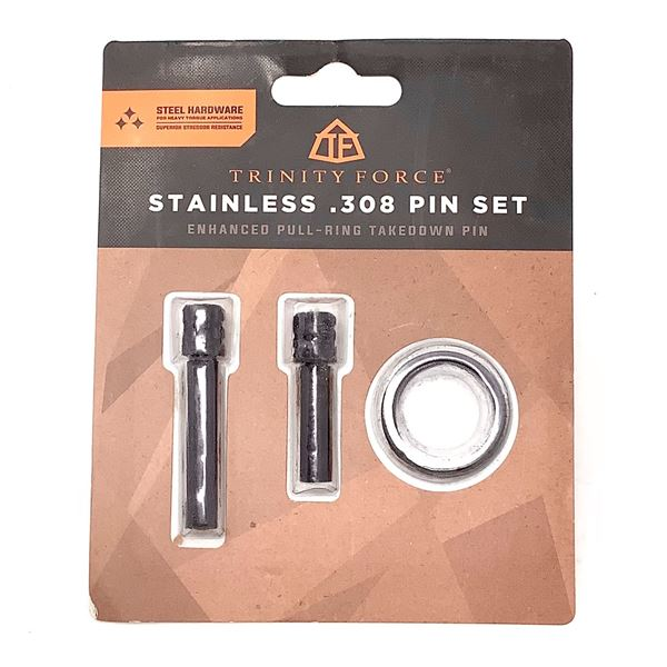 Trinity Force Stainless 308 Pin Set, New