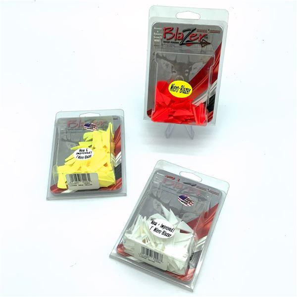 "Bohning Micro Blazer 1"" Vanes, 100 Pk X 3, New"