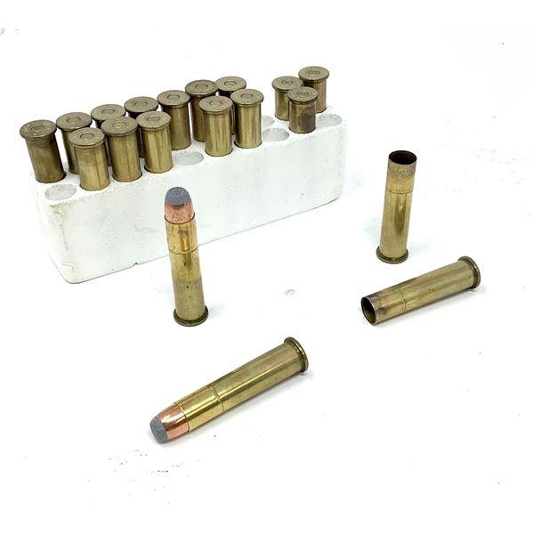 Remington 45-70 Govt. Ammunition & Casings - 14 Rnds & 5 Empty Casings