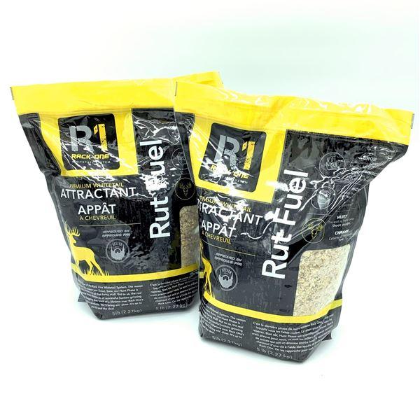 2 x Rack 1 Rut Fuel Premium Whitetail Attractant, 5lb, New