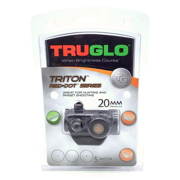 Truglo Triton Red Dot, 5 MOA Center Dot, Tri Color, New