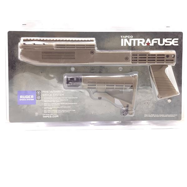 Tapco Intrafuse Ruger Mini-14/Thirty Stock System in Tan, New