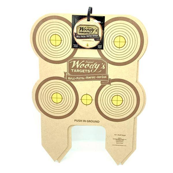 Woody's Targets Multi Target 2 Pack, New