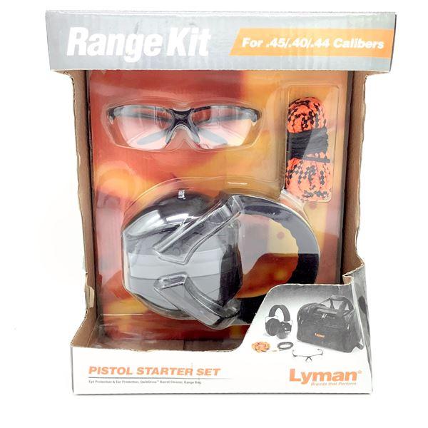 Lyman Range Kit, Pistol Starter Set, New