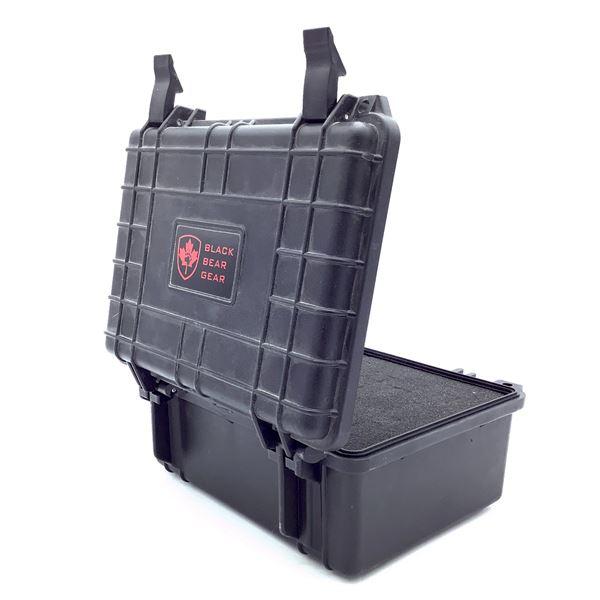 Black Bear Gear Small Hard Case with Foam, New