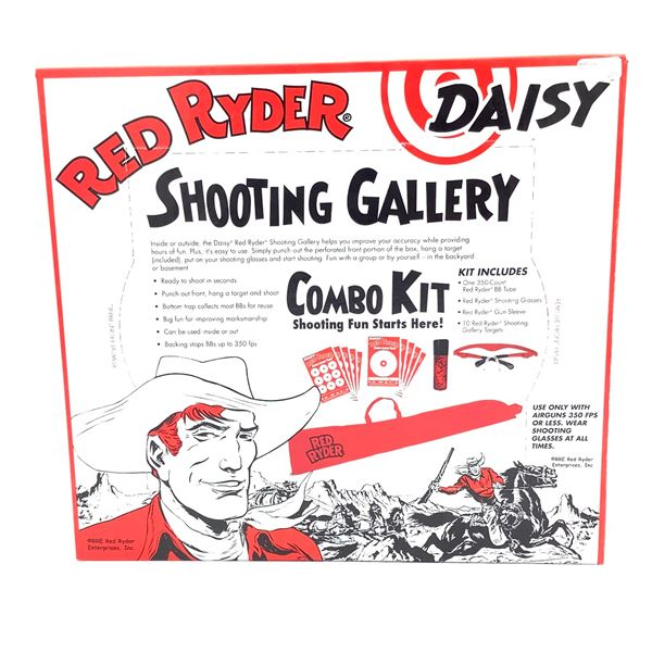 Daisy Red Ryder Shooting Gallery Combo Kit, New