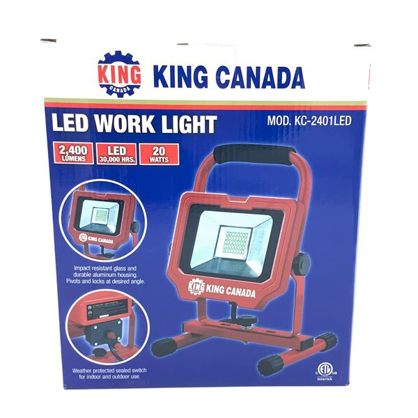 King Canada LED Work Light, New