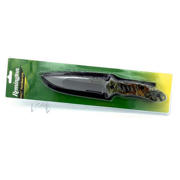 Remington F.A.S.T Fixed Blade Knife with Sheath, New