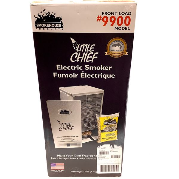Smokehouse Little Chief Electric Smoker, Front Load Model, New