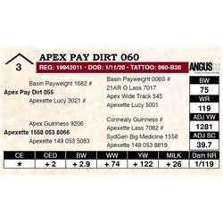 Apex Pay Dirt 060