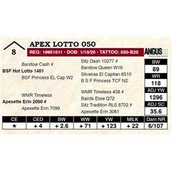 Apex Lotto 050