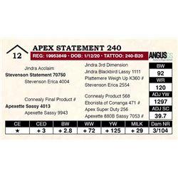 Apex Statement 240