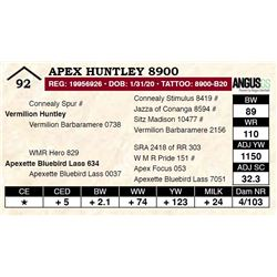 Apex Huntley 8900