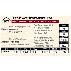 Apex Achievement 170