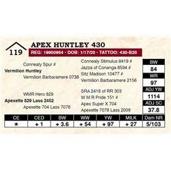 Apex Huntley 430