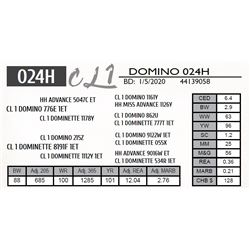 CL 1 DOMINO 024H