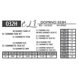 CL 1 DOMINO 032H
