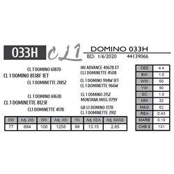 CL 1 DOMINO 033H
