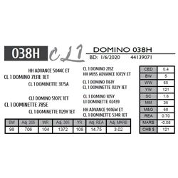 CL 1 DOMINO 038H