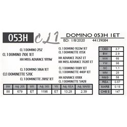CL 1 DOMINO 053H 1ET