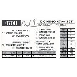 CL 1 DOMINO 070H 1ET
