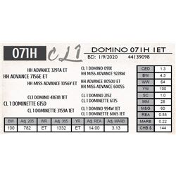CL 1 DOMINO 071H 1ET
