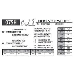 CL 1 DOMINO 075H 1ET