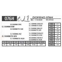 CL 1 DOMINO 076H