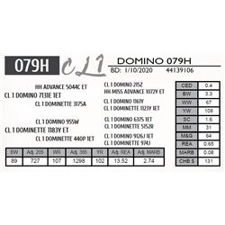 CL 1 DOMINO 079H