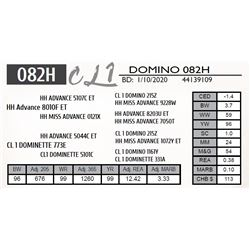 CL 1 DOMINO 082H