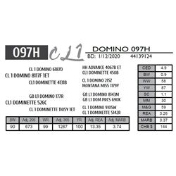 CL 1 DOMINO 097H