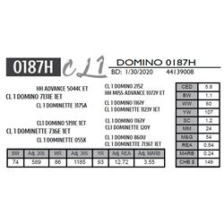 CL 1 DOMINO 0187H