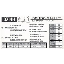 CL 1 DOMINO 0214H 1ET