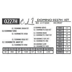 CL 1 DOMINO 0227H 1ET