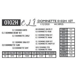 DOMINETTE 0102H 1ET