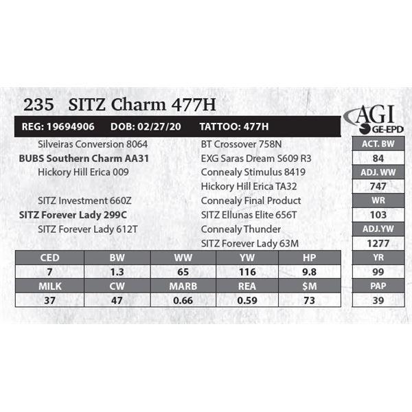SITZ Charm 477H