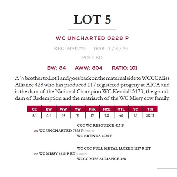 WC UNCHARTED 0228 P