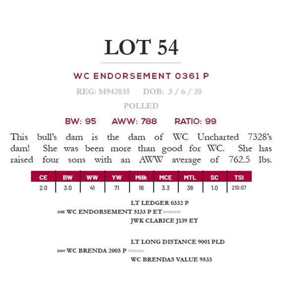 WC ENDORSEMENT 0361 P