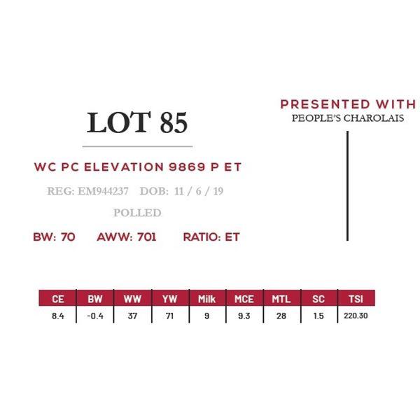 WC PC ELEVATION 9869 P ET