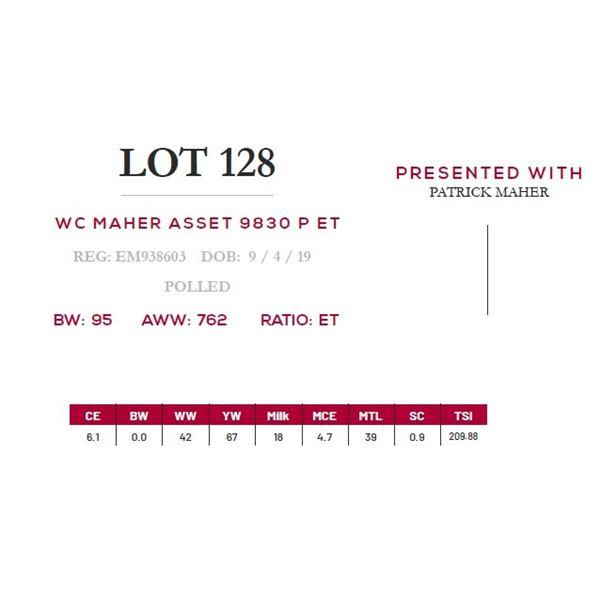 WC MAHER ASSET 9830 P ET