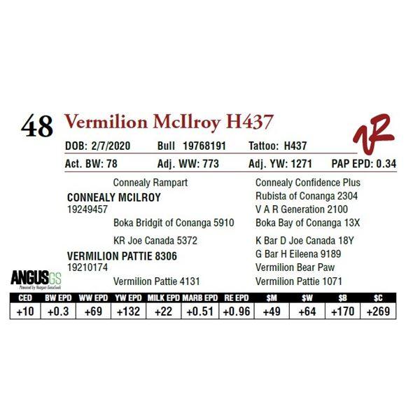 VERMILION MCILROY H437