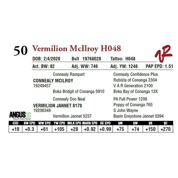 VERMILION MCILROY H048