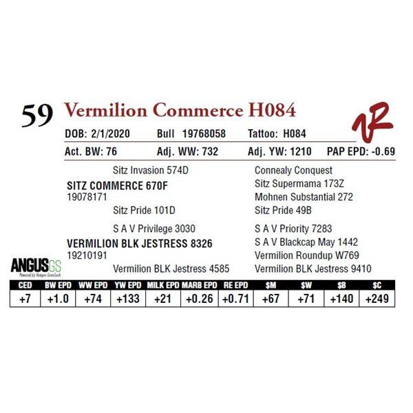 VERMILION COMMERCE H084