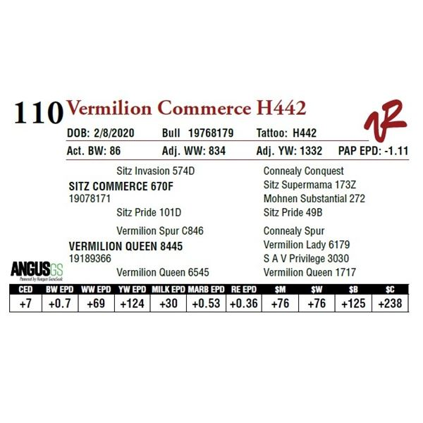 VERMILION COMMERCE H442
