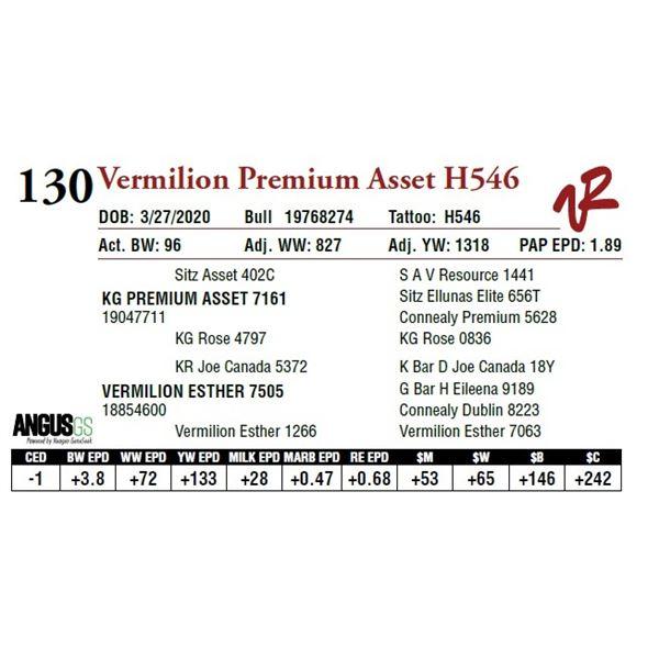 VERMILION PREMIUM ASSET H546