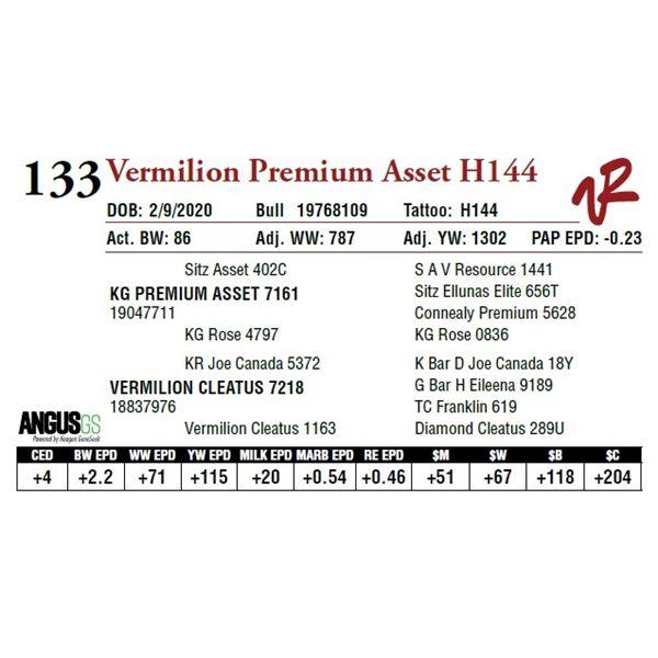 VERMILION PREMIUM ASSET H144