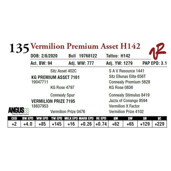 VERMILION PREMIUM ASSET H142